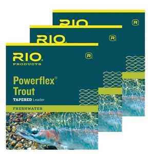 Bild på RIO Powerflex Trout - 9 fot (3 pack) 4X