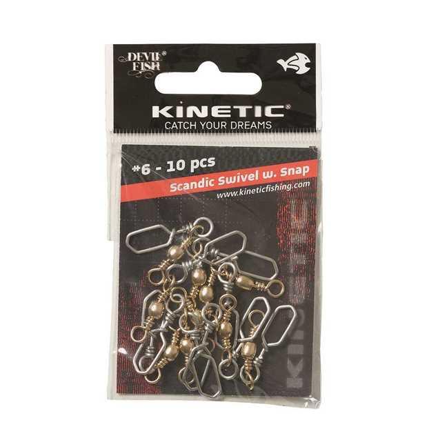 Bild på Kinetic Scandic Swivel Snap (4-10 pack)