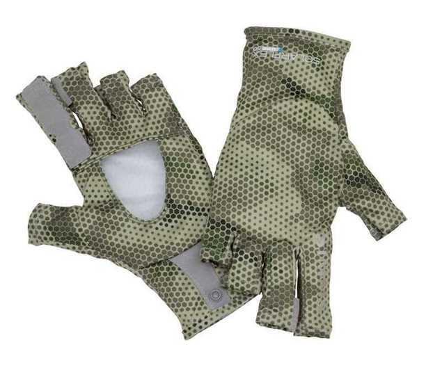 Bild på Simms SolarFlex Guide Glove (Hex Camo Loden) XL